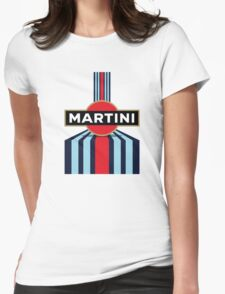 martini logo moto gp and formula one Womens Fitted T-Shirt