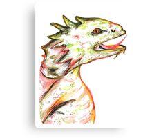 Little Green Dragon Canvas Print