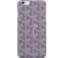 goyard purple logo iPhone Case/Skin