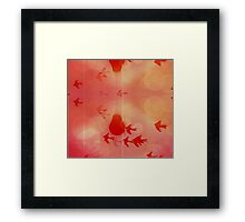 Rose Colored Dreams Framed Print