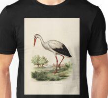 Bilder atlas zur Wissenschaftlich populären Naturgeschichte der Vögel in ihren sämmtlichen Hauptformen Leopold Joseph Fitzinger 1864 138 Unisex T-Shirt