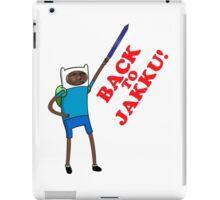Finn's going back iPad Case/Skin