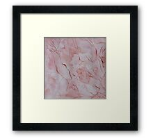 Watercolor Marble Texture Framed Print