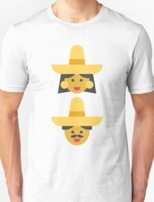 a mexican couple Unisex T-Shirt