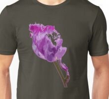 Overblown Tulip 03b Unisex T-Shirt