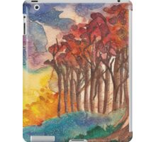 Red Trees iPad Case/Skin
