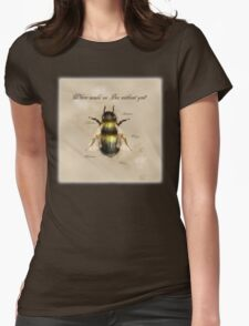 Where would we Bee without you? Womens Fitted T-Shirt