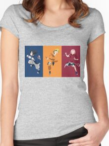 Uzumaki Team Women's Fitted Scoop T-Shirt