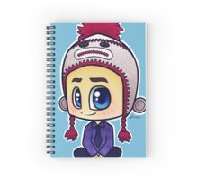 Misha Collins Spiral Notebook