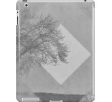 Monochrome Two Tone Trees iPad Case/Skin