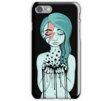 Black Stars Falling (David Bowie tribute) iPhone Case/Skin