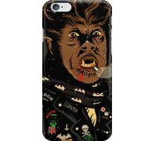 An Punk Werewolf iPhone Case/Skin