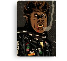 An Punk Werewolf Canvas Print