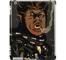 An Punk Werewolf iPad Case/Skin