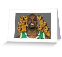 Joel 97 time NBA champ Greeting Card