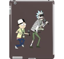 rick n morty dance iPad Case/Skin