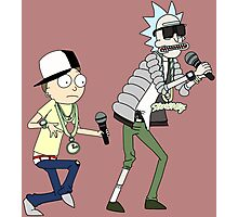 rick n morty dance Photographic Print