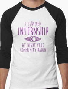 I survived Internship! Men's Baseball ¾ T-Shirt