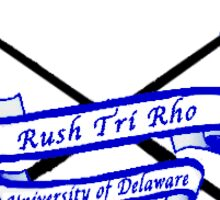 Rush Tri Rho Sticker