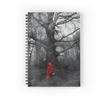 Dark version of Little Red Riding Hood Spiral Notebook