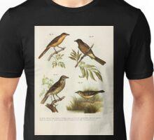 Bilder atlas zur Wissenschaftlich populären Naturgeschichte der Vögel in ihren sämmtlichen Hauptformen Leopold Joseph Fitzinger 1864 065 Unisex T-Shirt