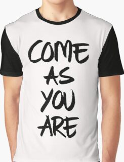 Come as you are, brush - OneMandalaAday Graphic T-Shirt