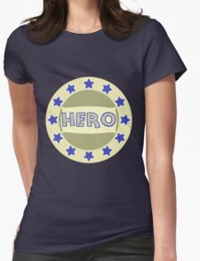 hero shield Womens Fitted T-Shirt