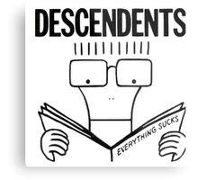 Descendents Everything Sucks Metal Print