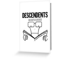 Descendents Everything Sucks Greeting Card