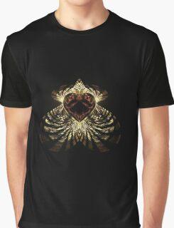 zebra heart Graphic T-Shirt