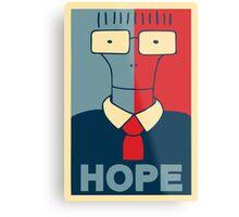 Milo Hope Metal Print