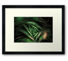 ribbon dance Framed Print