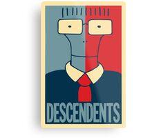 Descendents Milo Metal Print