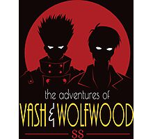 vash AND wolfwood Photographic Print