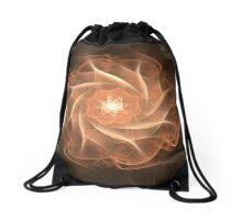 wild rose Drawstring Bag