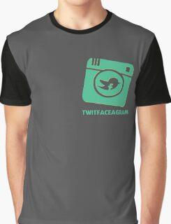 Twitfaceagram Graphic T-Shirt