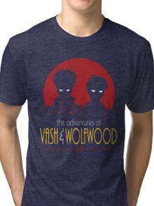 vash AND wolfwood Tri-blend T-Shirt