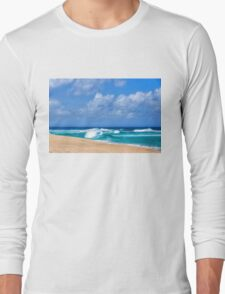 North Shore Turquoise - Impressions of Hawaii  Long Sleeve T-Shirt