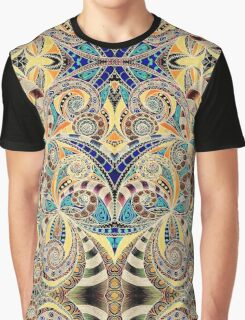 Drawing Floral Zentangle Graphic T-Shirt