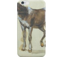 Arthur James Stark  A SKETCH OF A PONY iPhone Case/Skin