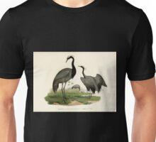 Bilder atlas zur Wissenschaftlich populären Naturgeschichte der Vögel in ihren sämmtlichen Hauptformen Leopold Joseph Fitzinger 1864 130 Unisex T-Shirt