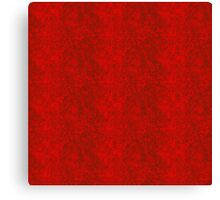 Vibrant ruby red in fire with fine black grey  traces Canvas Print