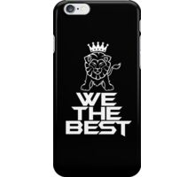 We the best dj khaled black iPhone Case/Skin