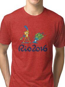 Happy Vinicius and Tom Tri-blend T-Shirt