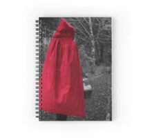 Dark version 2 of Little Red Riding Hood  Spiral Notebook