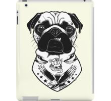 Tattooed Dog - Pug iPad Case/Skin