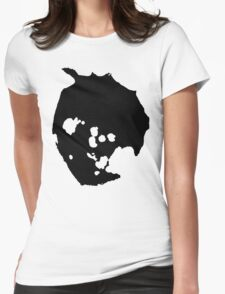 crater pool Womens Fitted T-Shirt