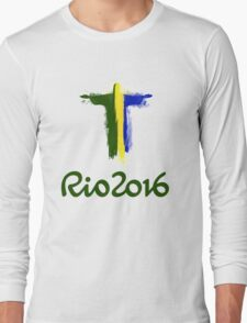 Rio 2016 Brazil Long Sleeve T-Shirt