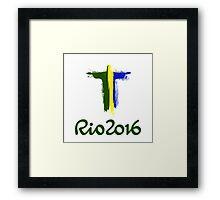 Rio 2016 Brazil Framed Print