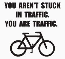 Bike Traffic One Piece - Long Sleeve